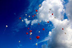 Decor din baloane pentru botez